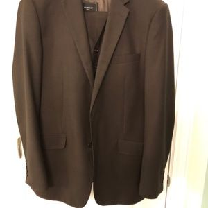Other - Dark brown 3 piece suit